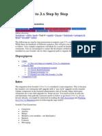 Joomla 2.5 to 3.x Step by Step Migration