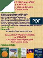 2013 00 Coltivazioni Arboree LM STAg 6CFU