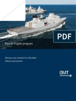 OMT Dansh Frigate Programme April 2014
