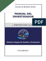 Manual del Investigador de Proyectos