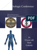 Clinico-Pathologic Conference 2015