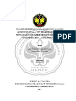 Analisis Metode Principal Component Analysis