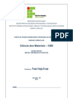Apostila CM2_ I Estrutura Dos Materiais