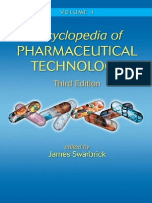 Encyclopedia of Pharmaceutical Technology, Third Edition pdf