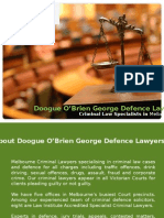 Doogue O'Brien George Defence Lawyers - Criminal Law Specialists in Melbourne