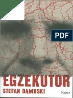 Dąmbski Stefan - Egzekutor
