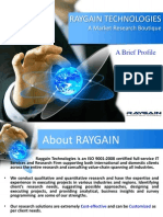 Raygain Technologies - A brief profile.