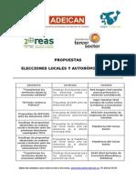2 Propuestas Redes Entidades Sociales Elecciones Mayo'15