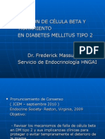 Célula Beta y Terapia en DM2