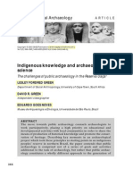 05 Green 2003 Indigenous Knowledfe & Archaeological Science