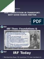 UNTRR-IRU Conference Bucharest May 2015 - IRF Presentation