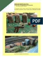 MODÉLISME FERROVIAIRE  à l'échelle HO (N°20)  Équipements de voies, fil magnétique et site industriel. Par Hervé Leclère