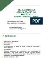 Diagnóstico Da Medicalização Do Processo