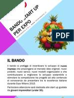 Bando Start Up Per Expo