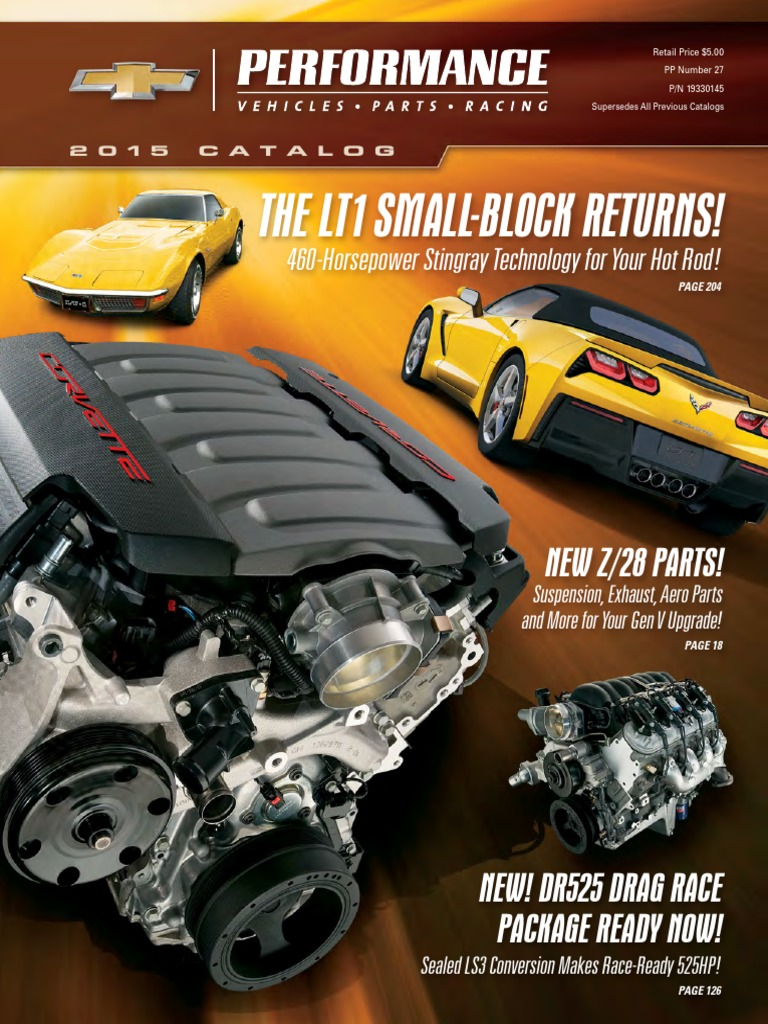 chevrolet 2015 full performance parts catalog suspension (vehiclechevrolet 2015 full performance parts catalog suspension (vehicle) engines