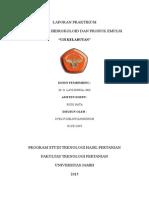 Laporan Praktikum Hidrokoloid Edit