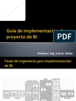 implementacion de BI