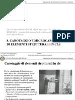 4.6 (8) Carotaggio e Microcarotaggio Di Elementi in Cls