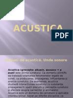 ACUSTICA INSTRUMENTE MUZICALE