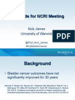 Neoblade Trial Slides for NCRI Bladder Cancer Meeting