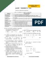 Ejercicios de algebra lineal