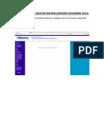 Configuracion Router DIC-13