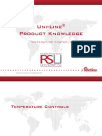 Uni-line Product Knowledge for Rsu Temperature Controls
