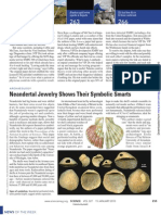 Science- Neandertal Jewelry Shows Their Symbolic Smarts