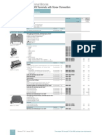 Siemens Terminal Blocks Catalog