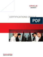GUIDE-Universites CertificaGUIDE-Universites Certifications ORACLEtions ORACLE