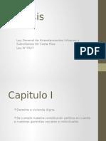 Ley de Arredamiento de Costa Rica.