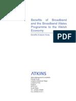 Benefits of Broadband and the Broadband Wales