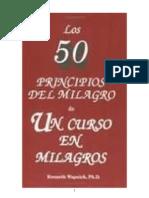 LOS 50 PRINCIPIOS  DEL MILAGRO  DE UN CURSO EN MILAGROS.doc