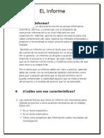 Trabajo de Lengua(Informe)