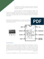 El 555 es un circuito integrado cuya función principal es producir pulsos de temporización con precisión.docx