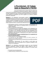 Resumen Informe 1 Comisión Subcontrato FCFM