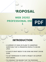 Proposal Writing( proposal)