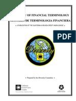 Glosario de Terminología Financiera