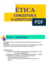 Ética - Conceitos e Classificações