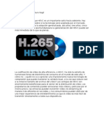 HEVC El Codec Del Futuro Llegó