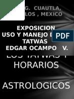 Tatwas y Horarios Astrologico Exposicion