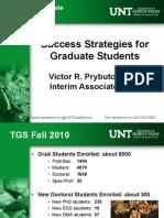 Success Strategies fro grad school