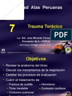 Tema 7 Trauma Toraxico en pacientes