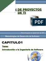 Gestion de Proyectos de Tecnologias de Informacion