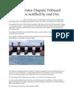 Cauvery Water Dispute Tribunal