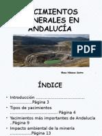 Yacimientos Minerales en Andalucía