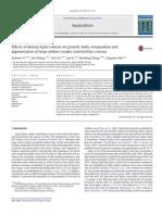 Efeito de lipídeos no crescimento, composição corporal e pigmentação de  yellow croaker Larimichthys croceus