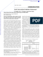 Efficient and Highly Selective Iron-catalyzed Reduction of Nitroarenes