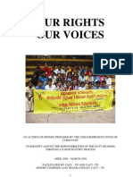 Tamilnadu Alternat Report 2010 on implementation of UNCRC