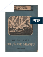 Wiera Inber - Oblężone miasto – 1953 (zorg)